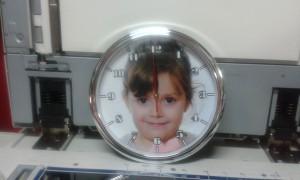 zidni sat sa slikom