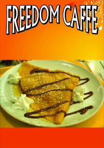 freedom caffe poster 1