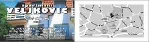 Apartmani Veljkovic vizit karte